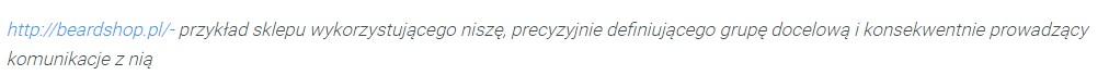 Przykład dobrze opisanego adresu URL
